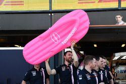 Force India anuncia a Havaianas chanclas como patrocinador