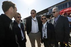 Andrew Craig, Pierre Fillon, presidente ACO, Gérard Neveu, CEO WEC