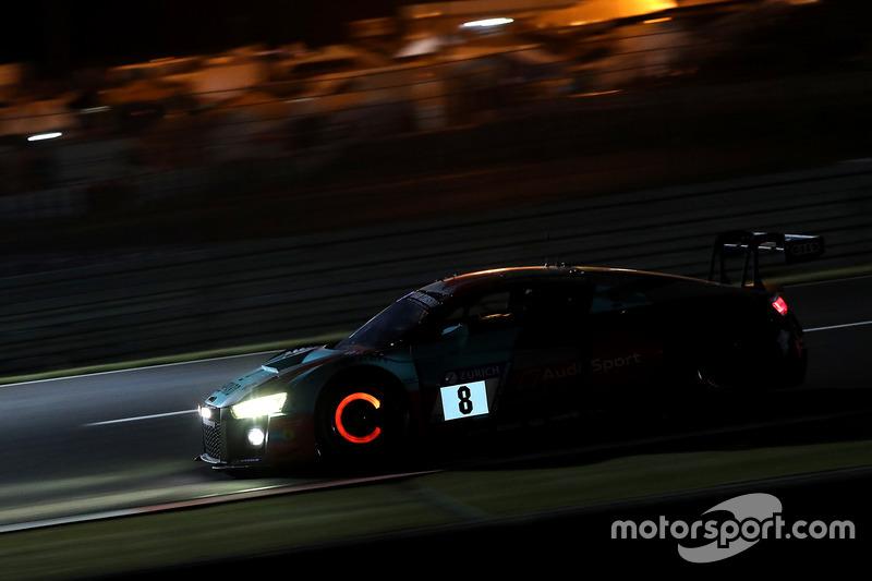 23. #8 Audi Sport Team WRT Audi R8 LMS GT3: Rene Rast, Robin Frijns, Dries Vanthoor, Kelvin van der Linde