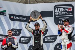 Podium: second place Daniel Nagy, M1RA Hyundai i30 N TCR