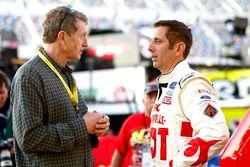 Bill Elliott and Greg Biffle, Roush Fenway Racing Ford