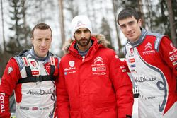 Kris Meeke, Khalid Al-Qassimi, Craig Breen, Abu Dhabi Total World Rally Team