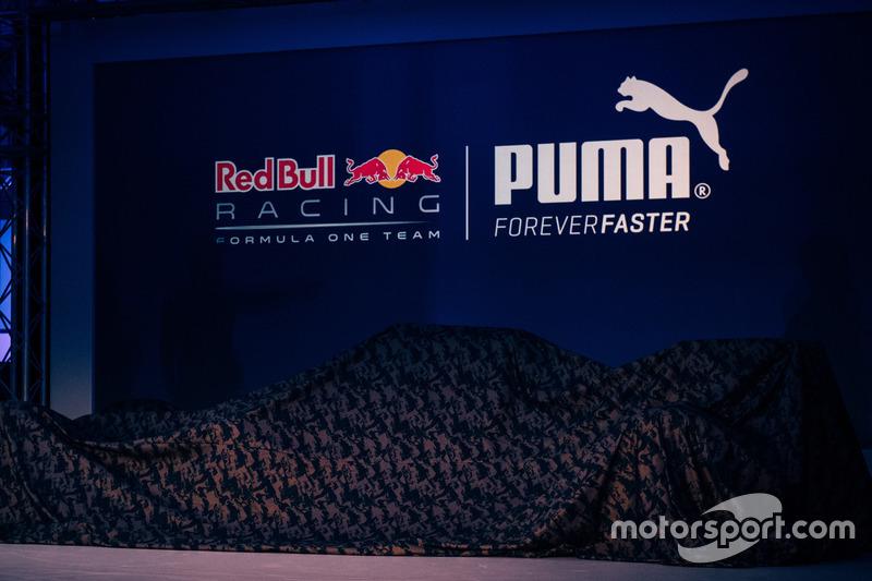 Dévoilement de la livrée, Red Bull Racing Présentation de