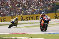 Nicky Hayden, Repsol Honda Team et Colin Edwards, Yamaha Factory Racing