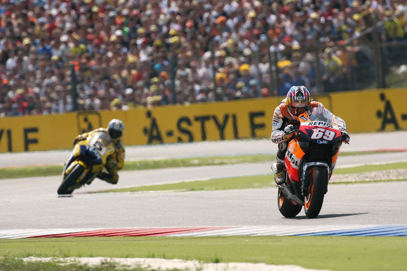 2006: Nicky Hayden dan Colin Edwards di Assen