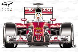 Машина Ferrari SF16H