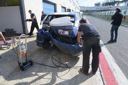 Choque de John Filippi, Campos Racing Chevrolet RML Cruze TC1