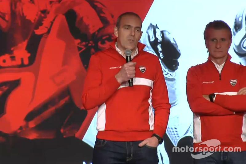 Ernesto Marinelli, Presentazione Aruba.it - Ducati Superbike 2016