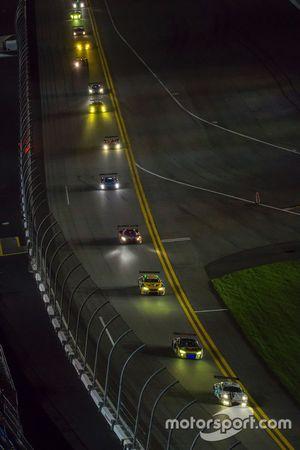 #22 Alex Job Racing Porsche 991 GT3 R : Cooper MacNeil, Leh Keen, David MacNeil, Gunnar Jeannette, Shane van Gisbergen