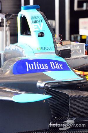 L'auto di Nelson Piquet Jr., NEXTEV TCR Formula E Team
