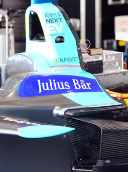 Car of Nelson Piquet Jr., NEXTEV TCR Formula E Team