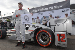 Le poleman Will Power, Team Penske Chevrolet