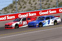 Ryan Reed, Roush Fenway Racing Ford en Elliott Sadler, JR Motorsports Chevrolet