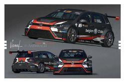 Team WRT, VW Golf TCR Benelux, Ronnie Latinne, Maxime Potty