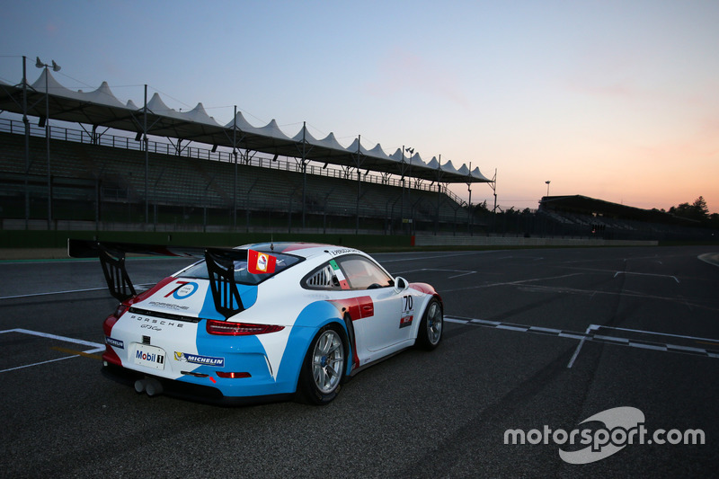 La Guest Car con la livrea celebrativa per i 70 anni di Porsche