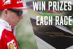 Win prizes each race