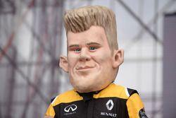 Caricature of Nico Hulkenberg, Renault Sport F1 Team