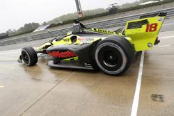 Sébastien Bourdais, Dale Coyne Racing with Vasser-Sullivan Honda, pitstop