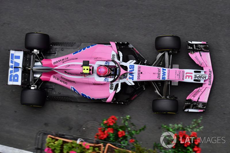 7. Esteban Ocon, Force India VJM11