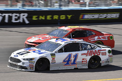 Kurt Busch, Stewart-Haas Racing, Ford Fusion Mobil 1/Haas Automation, Timmy Hill, Rick Ware Racing,