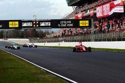 Sebastian Vettel, Ferrari SF71H práctica de arrancada
