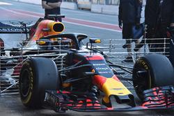 Daniel Ricciardo, Red Bull Racing RB14 with aero sensors
