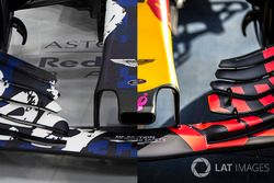 Red Bull RB14 vs. RB13, ala anteriore a confronto
