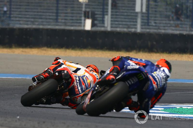 Marc Marquez, Repsol Honda Team and Maverick Viñales, Yamaha Factory Racing
