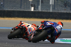 Marc Marquez, Repsol Honda Team and Maverick Viñales, Yamaha Factory Racing