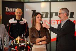 Ambiente en la presentación del Barni Racing Team