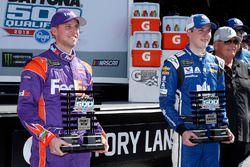 Il poleman Alex Bowman, Hendrick Motorsports, Nationwide Chevrolet Camaro, il secondo qualificato De