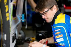 Chase Elliott, Hendrick Motorsports Chevrolet Camaro y Jordan Allen