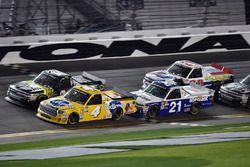 David Gilliland, Kyle Busch Motorsports, Pedigree Toyota Tundra, Justin Haley, GMS Racing, Fraternal