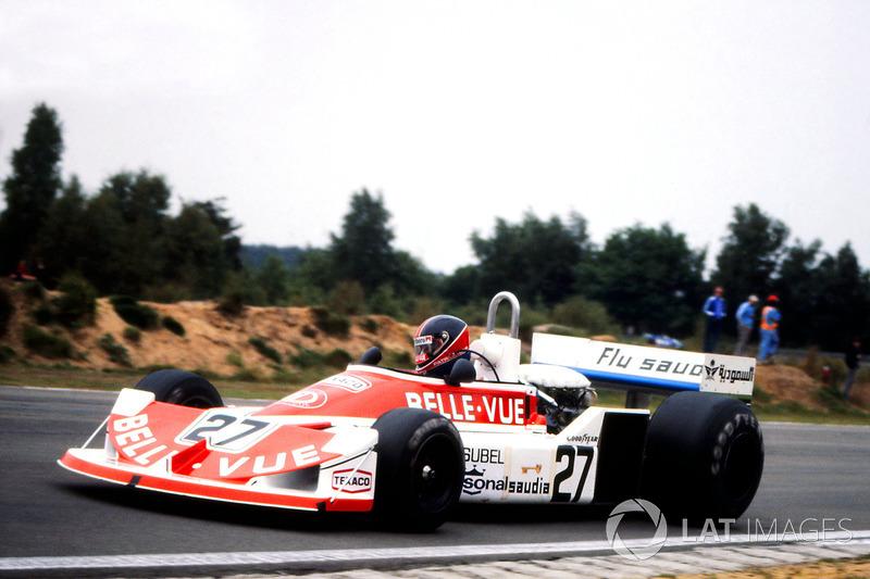Patrick Nève, 1977