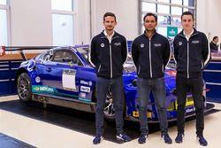 Alex Fontana, Adrian Zaugg, Mikael Grenier, Emil Frey Racing