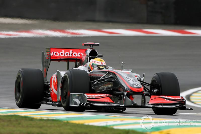 2009 : McLaren MP4-24, à moteur Mercedes