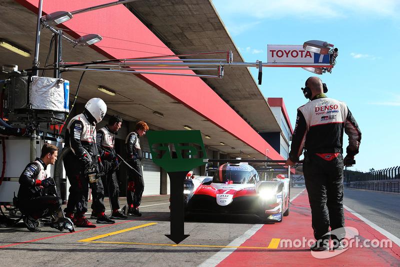 El siguiente test, con el Toyota Gazoo Racing Toyota TS050-Hybrid número ¡7! en El Algarve