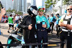 Luca Filippi, NIO Formula E Team, the EJ on the grid