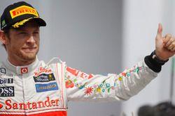 Подиум: Дженсон Баттон, McLaren
