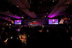 David Coulthard en el escenario