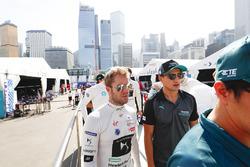 Sam Bird, DS Virgin Racing, Mitch Evans, Jaguar Racing