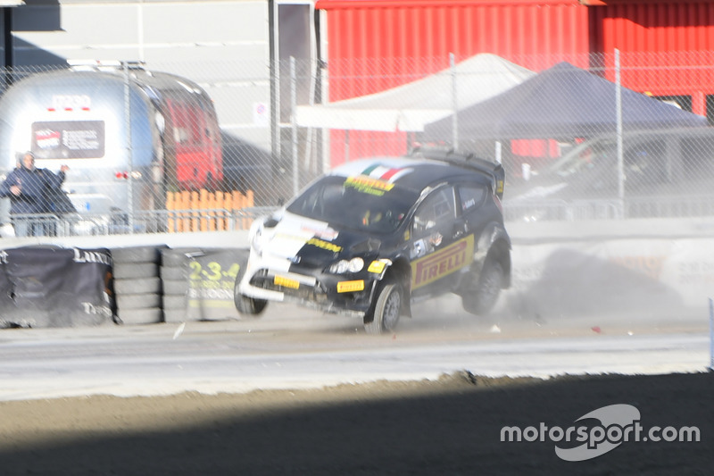El accidente de Oliver Solberg, Ford Fiesta WRC