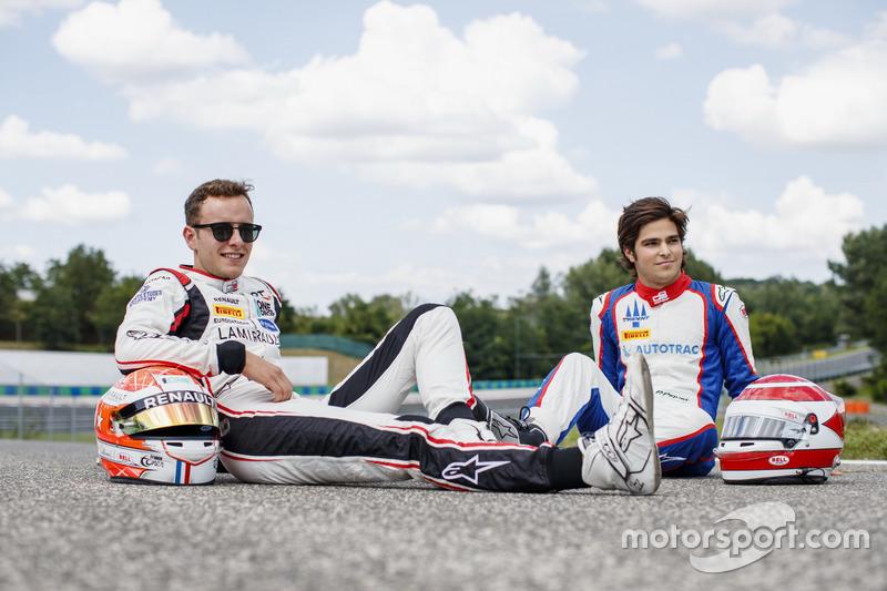 Anthoine Hubert em foto com Pedro Piquet.