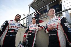 Mike Conway, Jose Maria Lopez, Kamui Kobayashi, Toyota Gazoo Racing