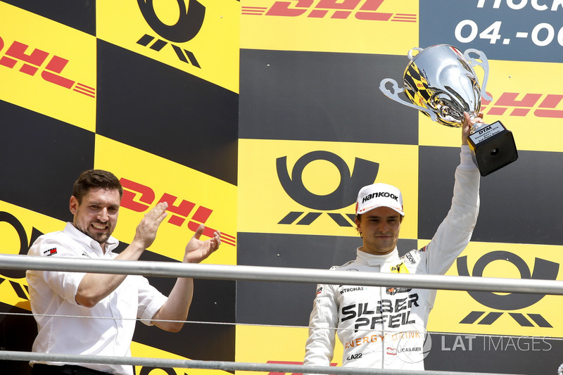 Podium: second place Lucas Auer, Mercedes-AMG Team HWA