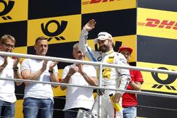 Podium: third place Timo Glock, BMW Team RMG