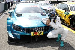Pole position for Gary Paffett Mercedes-AMG Team HWA, Mercedes-AMG C63 DTM