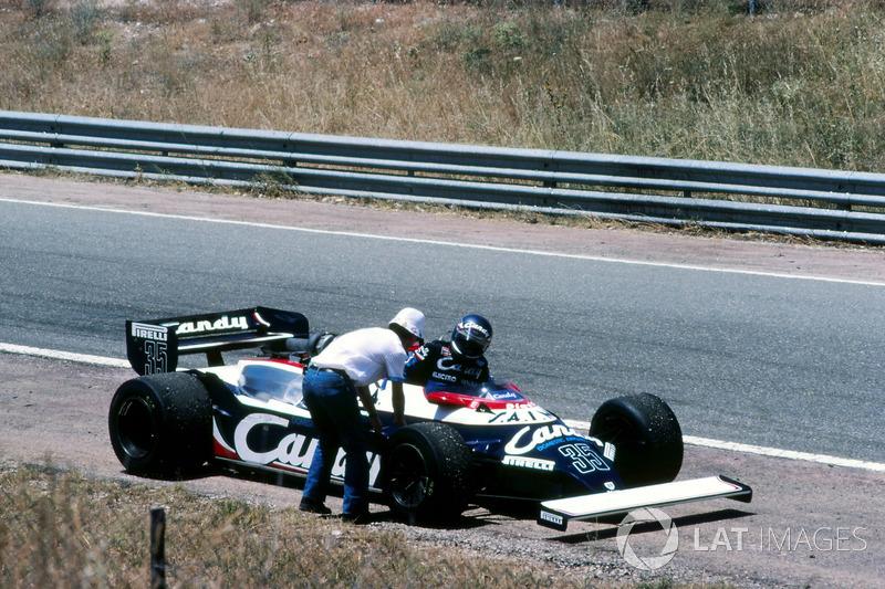 Квалификация покорилась не всем. Не попали на старт оба пилота молодой команды Toleman, только-только начинающий карьеру в Ф1 Микеле Альборето…