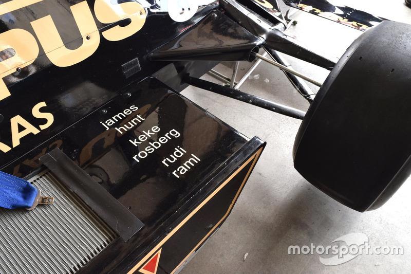 Wolf Racing WR7 di James Hunt, Keke Rosberg e Rudi Raml