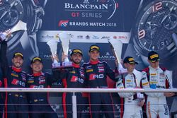 Podio: i vincitori, #2 Belgian Audi Club Team WRT Audi R8 LMS: Will Stevens, Dries Vanthoor, al secondo posto #1 Belgian Audi Club Team WRT Audi R8 LMS: Alex Riberas, Christopher Mies, al terzo posto #88 Akka ASP Team Mercedes-AMG GT3: Raffaele Marciello, Michael Meadows